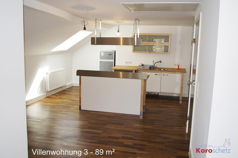 Dachgeschosswohnung in sanierter Bad Ischler Villa ...